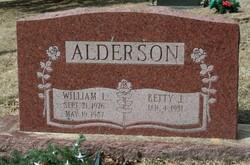 William L Alderson