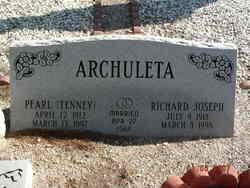 Pearl <i>Tenney</i> Archuleta
