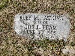 Ruby M. <i>Hawkins</i> Beam
