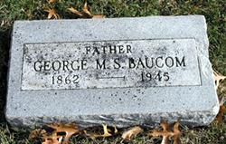 George M. S. Baucom
