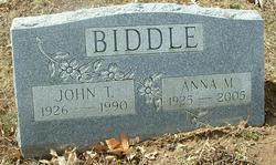 Anna M. Biddle