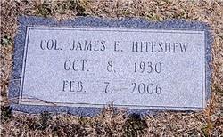 Col James Edward Hiteshew