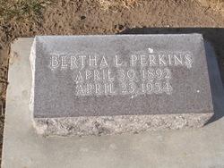 Bertha L. <i>Kronberg</i> Perkins