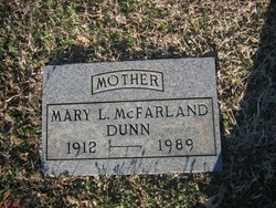 Mary Louise <i>McFarland</i> Dunn