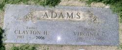 Clayton Henry Adams