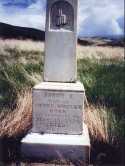 Sarah Eveline <i>Bruce</i> Owsley