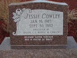 Jessie Cowley