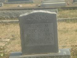 Addie Myrtle <i>Waller</i> Beckham