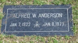 Alfred W Anderson