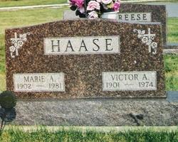 Marie Anna <i>Johnson</i> Haase
