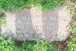 John Manley Briles