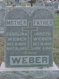 Joseph Alford Weber