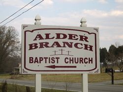 Alder Branch Baptist Church Cemetery