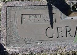 Bobbie E. <i>Nuckles</i> Gerald
