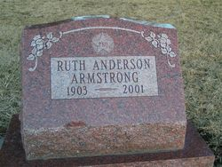 Ruth Elwood <i>Anderson</i> Armstrong