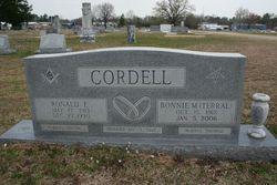 Bonnie Mae <i>Terral</i> Cordell