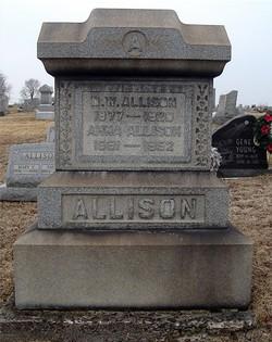Anna Sarah <i>Allison</i> Allison