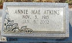 Annie Mae <i>Grider</i> Atkins