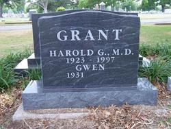 Dr Harold G. Grant