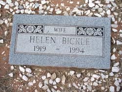 Helen R. <i>Singer</i> Bickle