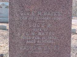 Gen Erastus Newton Bates