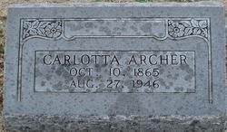 Carlotta Archer