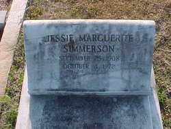 Jessie Marquerite Simmerson