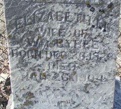 Elizabeth M. <i>Crooks</i> Bybee