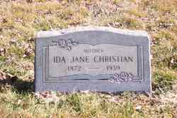 Ida Jane <i>Stevick</i> Christian