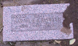 Mrs Sarah Elanor <i>Meade</i> Criswell