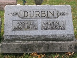 Ambrose Q Durbin