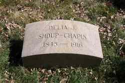 Delia J <i>Shoup</i> Chapin