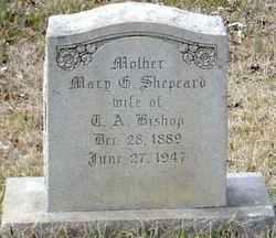 Mary G <i>Shepherd</i> Bishop