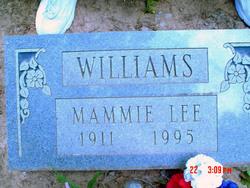 Mammie Lee <i>Grant</i> Williams