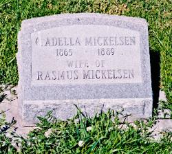 Cornelia Adella <i>Mortensen</i> Mickelsen