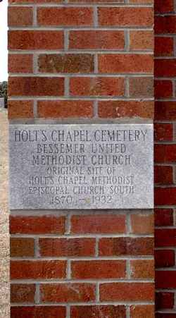 Holts Chapel Cemetery