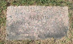 Mary Elizabeth <i>Harrison Cox</i> Aaron