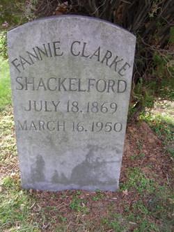 Fannie <i>Cole</i> Shackelford