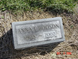 Anna E <i>Dodson</i> Berry