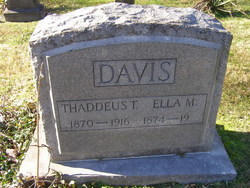 Ella Lee <i>Mayhugh</i> Davis