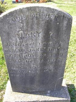 Mary King <i>Davis</i> Davis