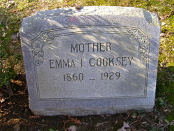 Emma J <i>Cornwell</i> Cooksey