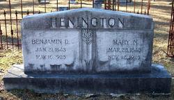 Mary Narcissus <i>Catching</i> Henington