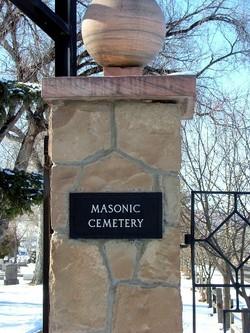 Municipal Cemetery - Masonic