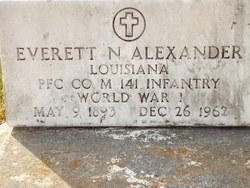 Everett N Alexander