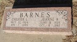 Jeanne Bernice <i>Anderson</i> Barnes