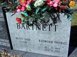 Betty Jane <i>Taylor</i> Barnett
