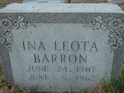 Ina Leota <i>Netherton</i> Barron