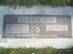 Allen D. Haugen