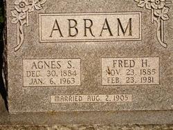 Agnes Sarah <i>Blakely</i> Abram